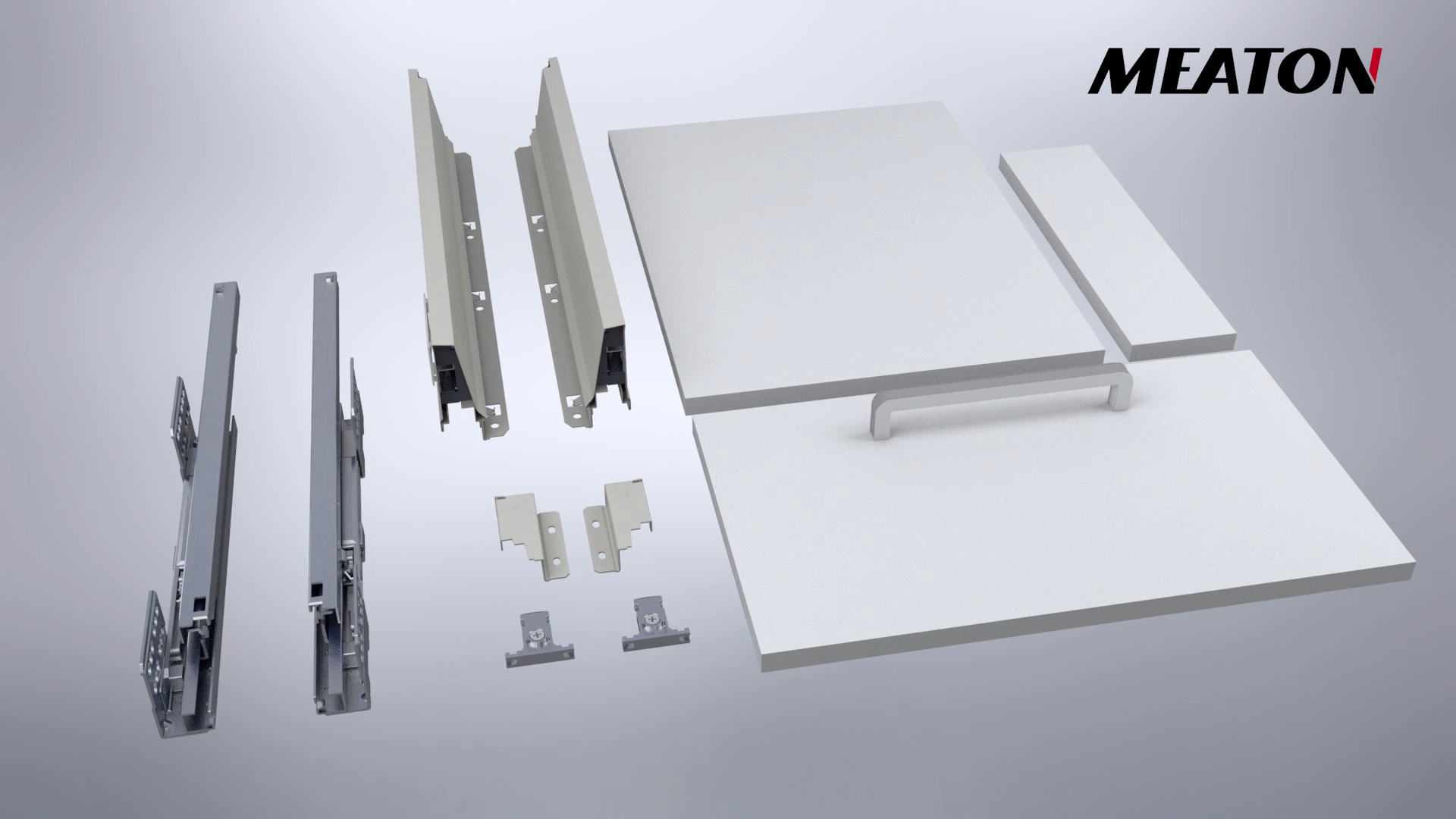 MEATON | Drawer system installation